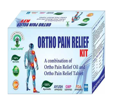 Ortho Pain Relief Kit for joint pain and knee pain